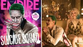 圖翻攝自Suicide Squad官方臉書 小丑 小丑女