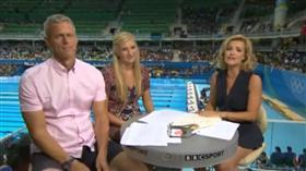 BBC女主播轉播奧運(圖/翻攝自YouTube)