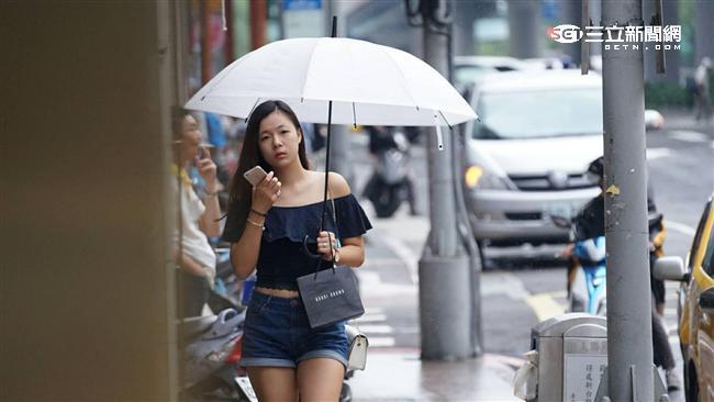 明全台變天轉雨 周末放晴上探31度