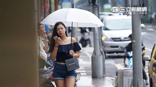 下雨,雨(圖/記者林敬旻攝)