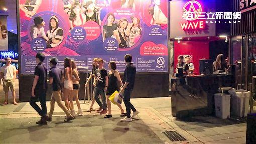 台北市信義區夜店首次發生舞池械鬥凶殺案(翻攝畫面)
