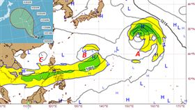 西北太平洋進入颱風生成活躍期(圖/翻攝自洩天機教室)