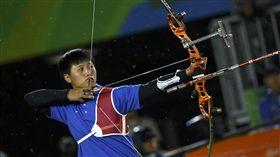 「雷母」雷千瑩、里約奧運、射箭(圖/路透社/達志影像)