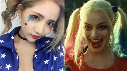 自殺突擊隊、小丑女、陳艾琳/ig、twitter