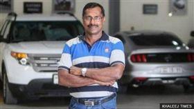 Mohammad Basheer Abdul Khadar(圖/翻攝自KHALEEJ TIMES) http://www.bbc.com/zhongwen/trad/uk/2016/08/160810_indian_lottery_win