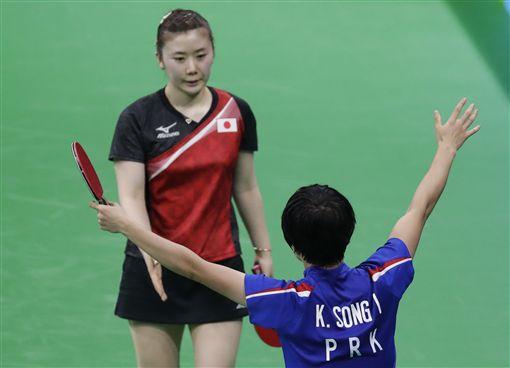 福原愛,里約奧運女單銅牌戰(ap)