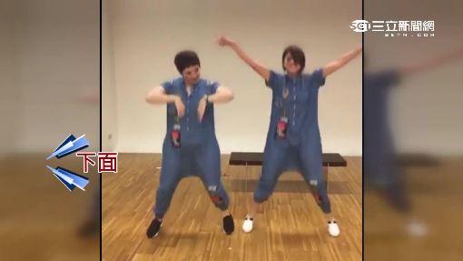 """李燕大跳鬼舞! 紋身貼紙助陣""""裝神弄鬼"""""""