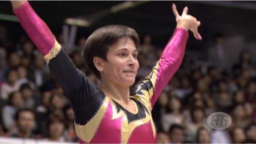 丘索維金娜,Oksana Chusovitina,體操,2016里約奧運,退休圖/翻攝自YouTube