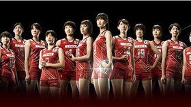 日本女排代表隊(圖/翻攝自推特)