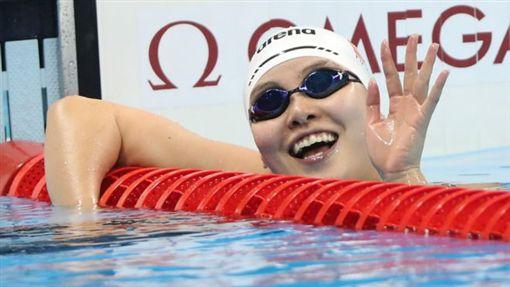 ▲傅園慧一夕爆紅。(圖/翻攝自《BBC中文網》)http://www.bbc.com/zhongwen/trad/china/2016/08/160809_rio2016_fu-yuanhui_100m_womens_backstroke