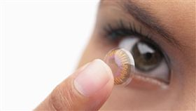 隱形眼鏡,放大片,變色,眼角膜潰瘍 圖/shutterstock/達志影像