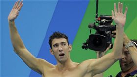 「飛魚」菲爾普斯(Michael Phelps)(ap)