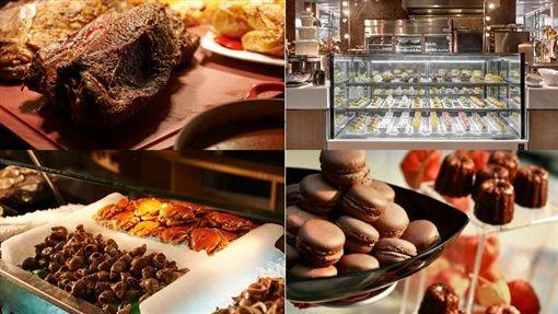 十二廚,自助餐,buffet(合成圖/翻攝自喜來登官網)http://www.sheratongrandetaipei.com.tw/restaurant_content.php?id=5