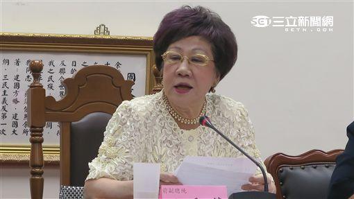 前副總統呂秀蓮。(記者盧素梅攝)