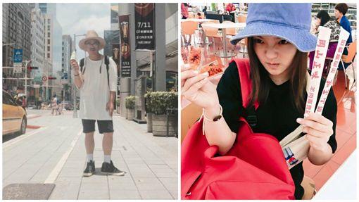 徐佳瑩 比爾賈 圖/臉書、微博