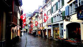 瑞士,歐洲,街道,外國(圖/攝影者Samantha En Route, Flickr CC License) https://goo.gl/WHHPkU