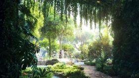 杜拜將打造擁有人造熱帶雨林飯店(圖/翻攝自每日電訊)