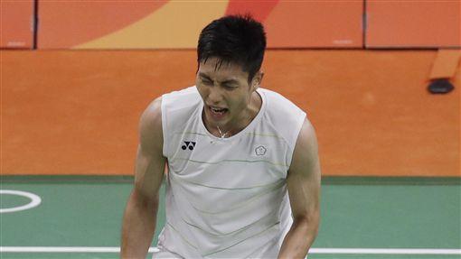 周天成,里約奧運羽球男單(ap)