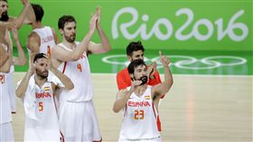 Pau Gasol,西班牙男籃,里約奧運(ap)