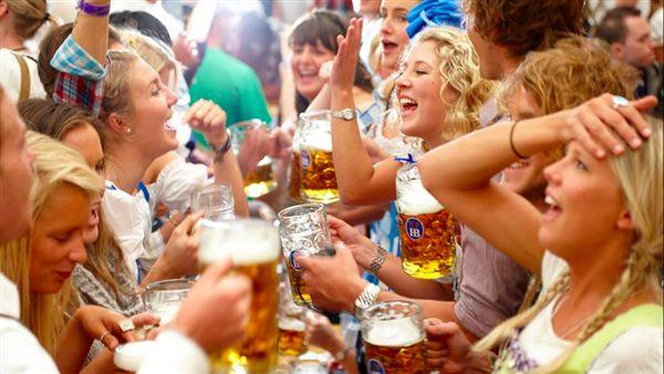 德國啤酒節Oktoberfest。(圖/翻攝自HB慕尼黑皇家啤酒臉書)
