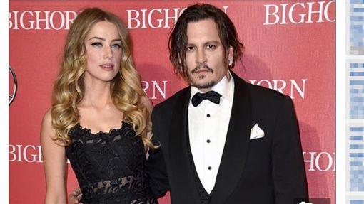 強尼戴普(Johnny Depp) 安柏赫德