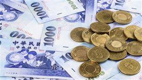 新台幣,央行,財經,鈔票 圖/shutterstock/達志影像