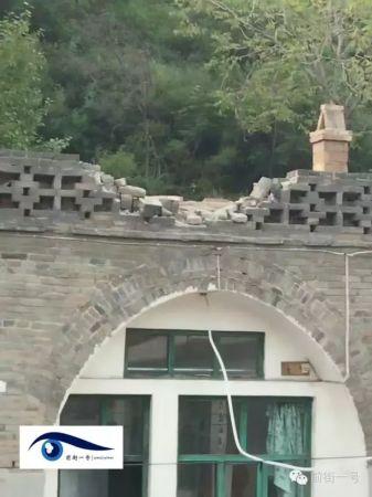 山西省婦女遭巨石砸死(圖/翻攝自京華網)