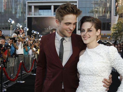克莉絲汀史都華(Kristen Stewart)、暮光之城、羅伯派汀森(Robert Pattinson)/AP
