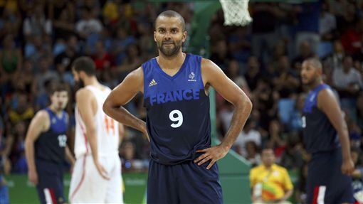 Tony Parker,法國男籃,里約奧運(路透)