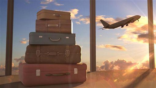 旅遊,旅行,行李箱,出國,海外(圖/shutterstock/達志影像)