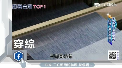 台南頂級格子布 躍上國際伸展台