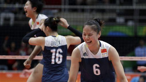 中國女排,里約奧運(ap)