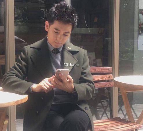 林志穎 iphone7 圖/微博