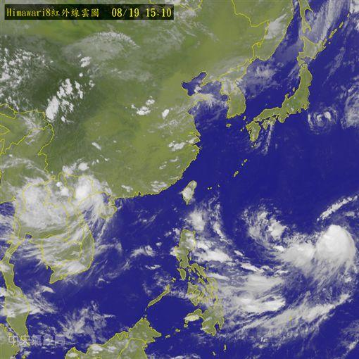 0819衛星雲圖/中央氣象局