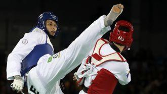 劉威廷跆拳道80公斤級 晉級8強