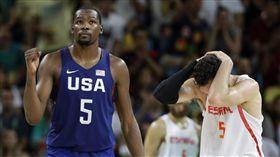 Kevin Durant,美國男籃,里約奧運(ap)