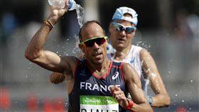 法國38歲名將迪尼茲(Yohann Diniz)_美聯社