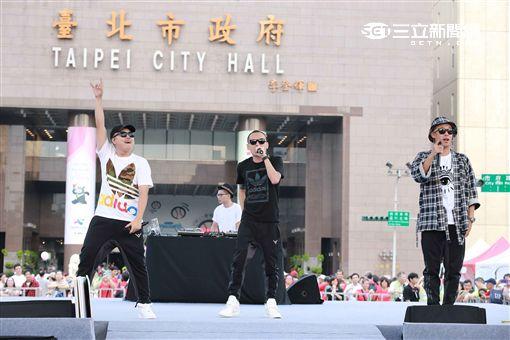 20160820-本土嘻哈夯團「玖壹壹」出席台北市政府之邀擔任「2017夏季世界大學運動會」(世大運)代言人