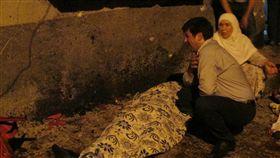土耳其南方加齊亞戴普市(Gaziantep) 一個婚禮遭爆炸攻擊(圖/美聯社/達志影像)