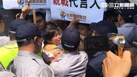 沙海林 雙城論壇 台聯 抗議 擁護者