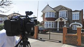 北韓外交官太永浩在英國的官邸(圖/美聯社/達志影像)