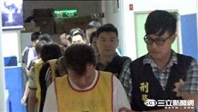 警方逮獲以徐姓男子為首的桃園楊梅詐騙集團(翻攝畫面)