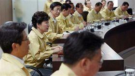 朴槿惠,聯合軍演,圖/每日郵報