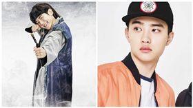 伯賢出演「十王子」原因曝光!與EXO成員D.O.有關 圖/翻攝自微博 都暻秀吧_DohkyungsooBar、邊伯賢吧_FearlessBae