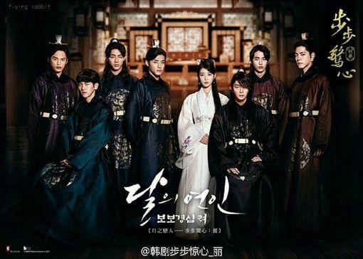 伯賢出演「十王子」原因曝光!與EXO成員D.O.有關 圖/翻攝自韓劇步步驚心_麗微博
