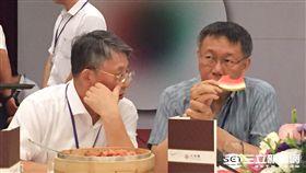 沙海林,柯文哲,晚宴,雙城論壇 議員王欣儀提供