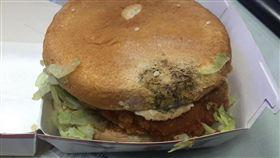 歡樂送漢堡發霉?網友驚呼:買到盜版麥當勞