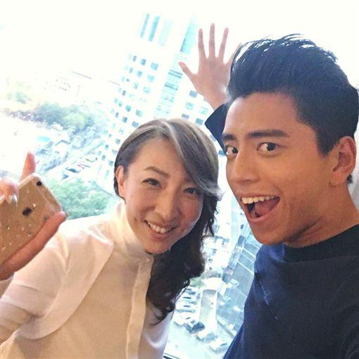 陳玉珊,王大陸(圖/陳玉珊臉書)https://www.facebook.com/frankie.chen.official/