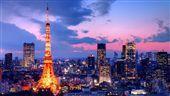東京,鐵塔,夜晚,夜景,日本(圖/shutterstock/達志影像)