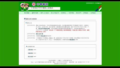 中華郵政招考